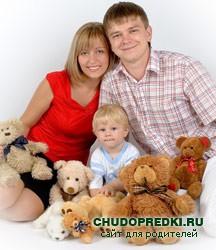 дети и мягкие игрушки