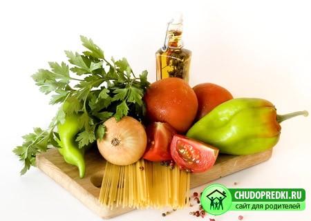 Овощи в похудении