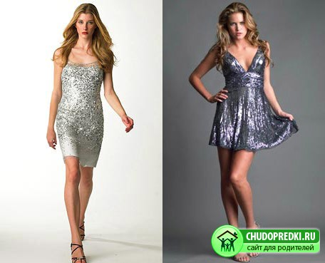 Симпатичные платья на новый год 2011