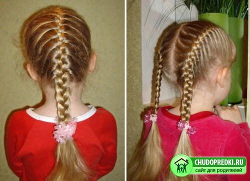 Прически для длинных волос для