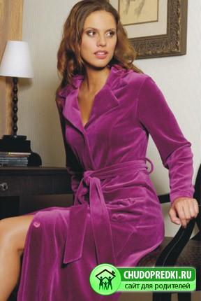 Халаты оптом Wildrose - домашняя одежда должна быть эстетичной.