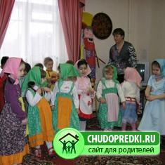 Музыкальные занятия в старшей группе детского сада