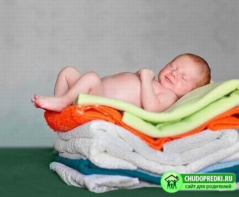 как фотографировать новорожденных в домашних услови¤х