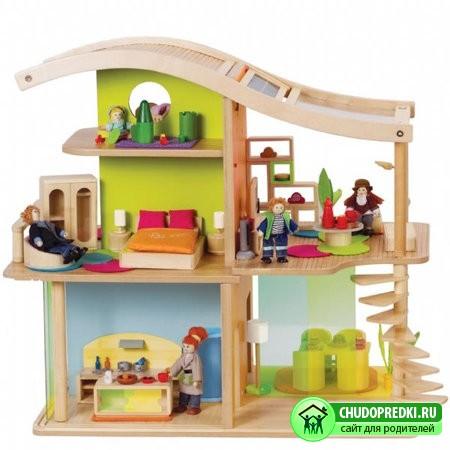 Понадобится настоящий дом для кукол