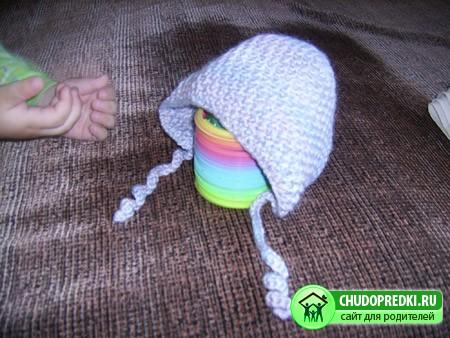 Вязание детской шапки