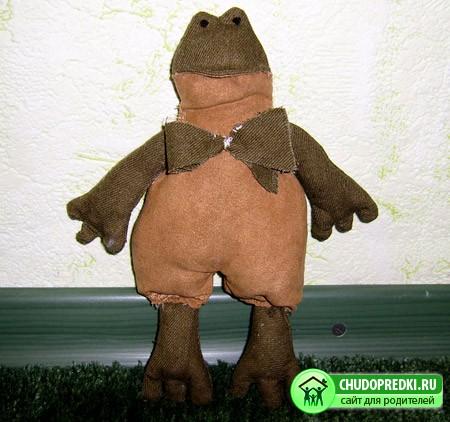 Куклы Тильда. Лягушка