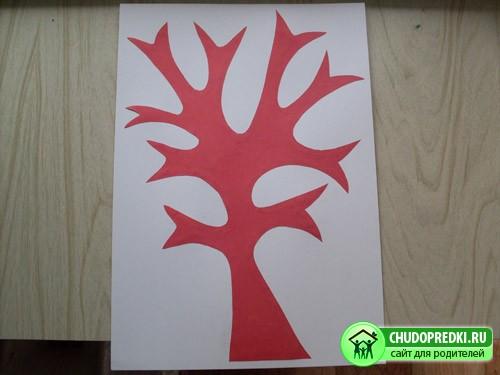 Как сделать из бумаги родословное дерево своими руками