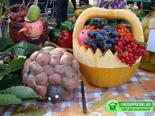Все подделки: Поделки из овощей с огорода - 28 Ноября 2011 - Своими руками.