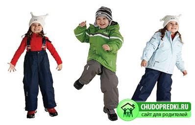Финская зимняя одежда для детей. Если