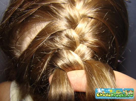 Мастер класс плетение колосков из волос