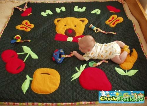 Развивающие игрушки детям своими