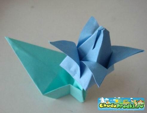 Оригами цветов