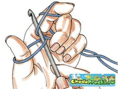 Вязание крючком схемы для