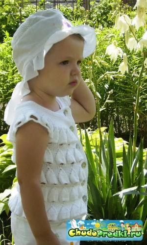 Вязание спицами для детей описание