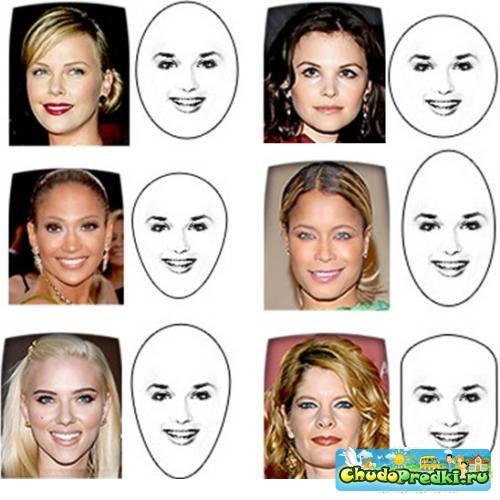 Выбрать короткую стрижку по форме лица с