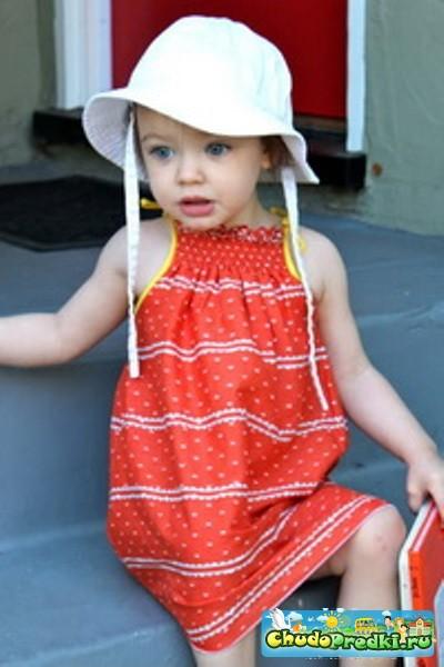 Выкройки платьев для девочек с оборками фото 13