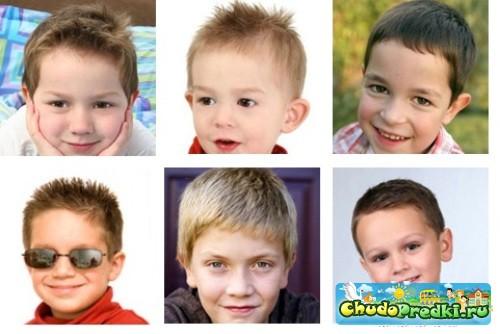 Автор: Gogor.  Артикул: 702252337.  Детские прически для мальчиков фото.