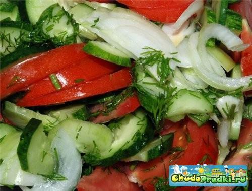 салат из огурцов лука на зиму рецепты