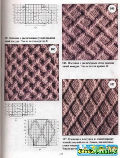 Вязания спицами схемы