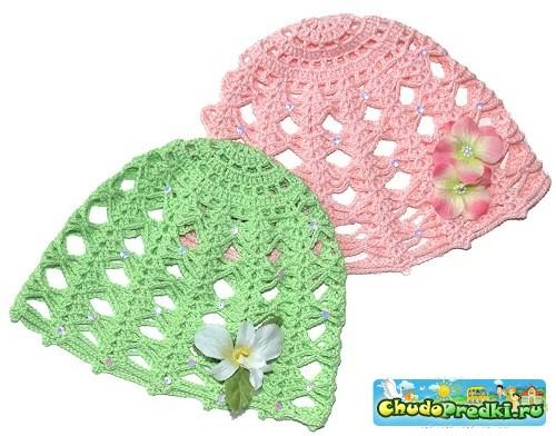 Вязание для детей шапочки