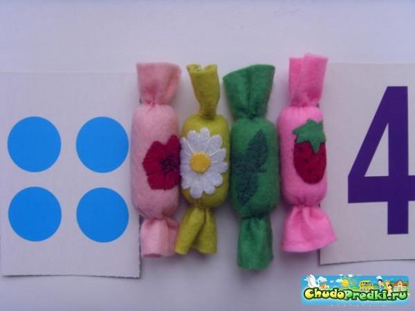 Игрушечные конфеты своими руками