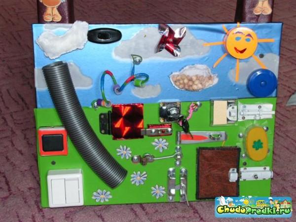 Развивающая игрушка своими руками для детей 3 лет