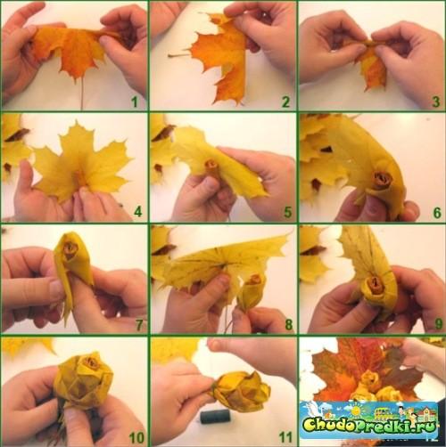 Осенние поделки своими руками