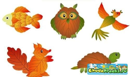 Осенние букеты своими руками листьями