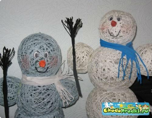новогодняя поделка в детский сад