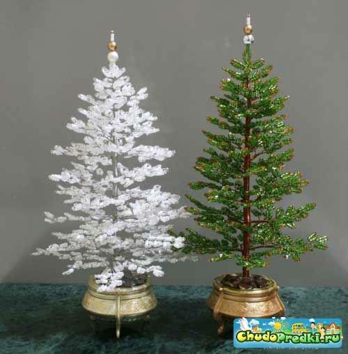 Новогодняя елка своими руками схемы