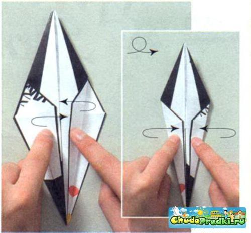 Оригами с действием