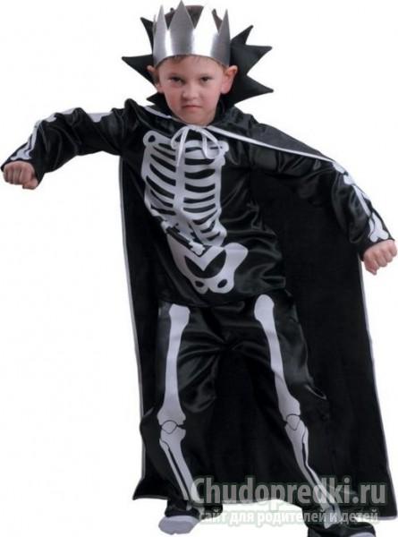 Новогодний костюм для мальчика своими руками из