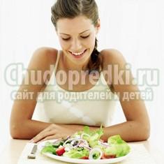 Правила питания на ранних сроках беременности
