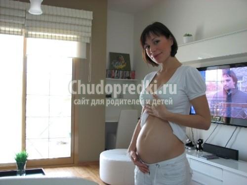 Беременность 20 недель животики