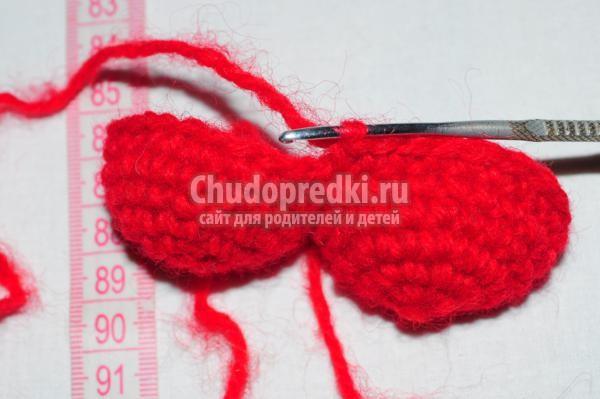 Вязание крючком в круг амигуруми