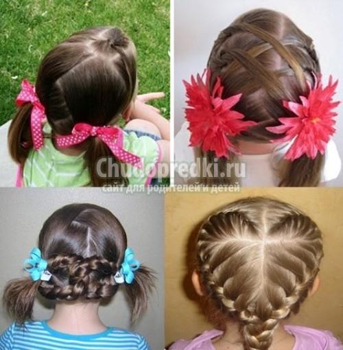 Детские прически для девочек today style