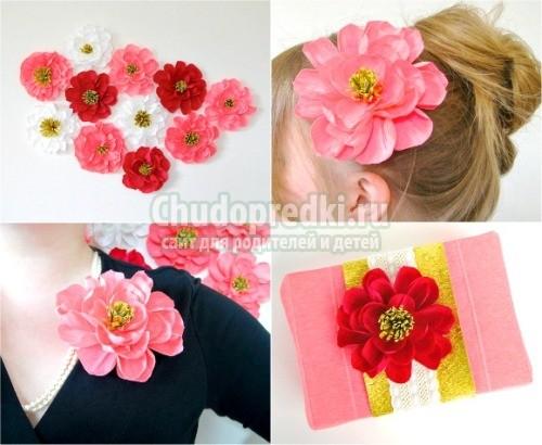 Цветы из гофрированной бумаги своими руками пошагово