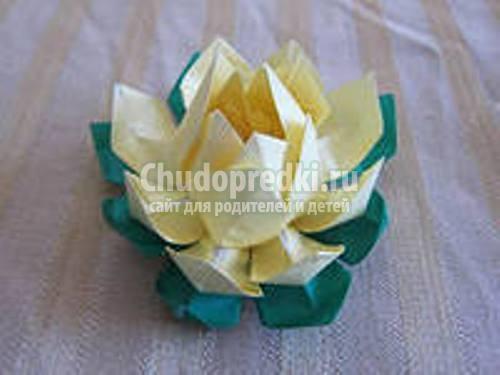 Как сделать цветы оригами