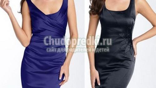 Выкройки прямого платья своими руками