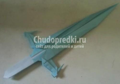 Как сделать мечи ниндзя из бумаги