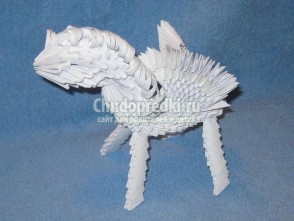 Модульное оригами. Традиционная кусудама. Мастер класс с пошаговым фото
