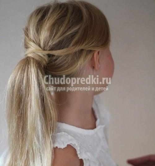 Прически для волос для девочек