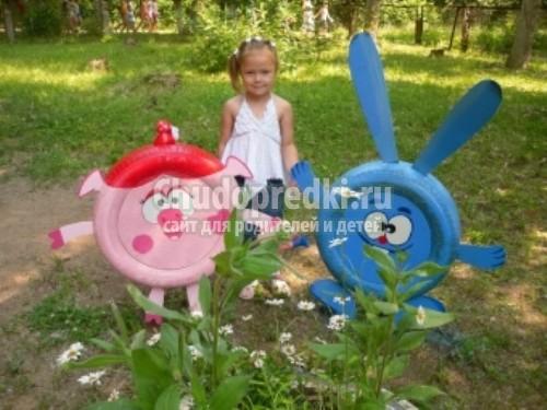 Поделки на участке детского сада летом картинки
