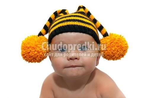 Вязание шапок для детей