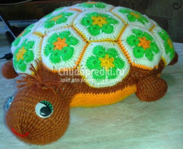 Вязание крючком черепаха со схемой 943