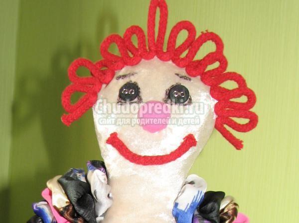Клоун игрушка своими руками