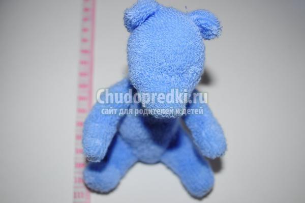 Мишка из носков мастер класс