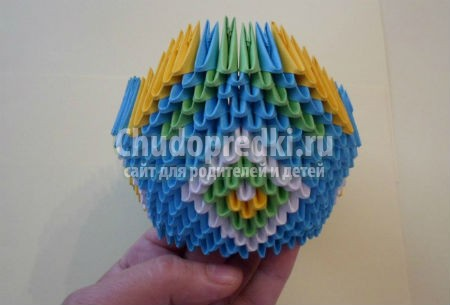 Модульное оригами - прекрасное