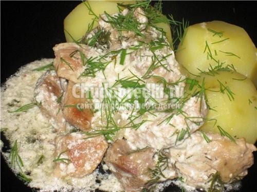 говядина в сметанном соусе в духовке рецепт #12