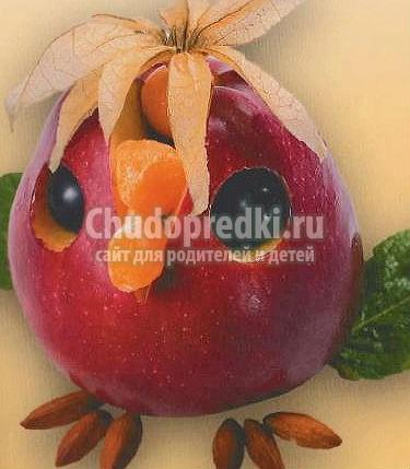 Поделки из яблочек своими руками